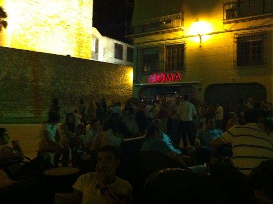 Lucena, Hiszpania: TERRAZA MOMA EN VERANO