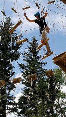 The Lodge and Spa at Brush Creek Ranch: the ropes
