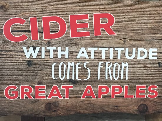 Walden, Νέα Υόρκη: Actually, It Comes from Angry Apples