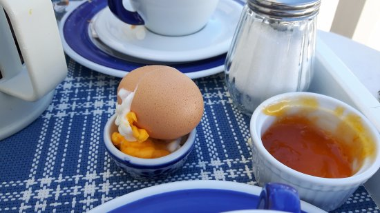 Heaven Naoussa : Eggs served at breakfast
