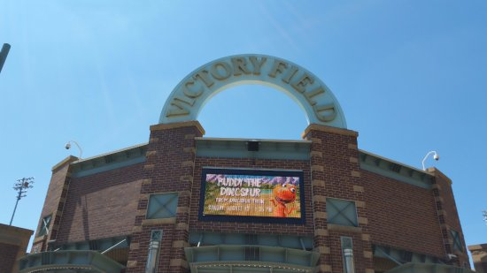 Victory Field.. Indians vs Buffalo