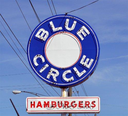Bristol, TN: Iconic Blue Circle sign