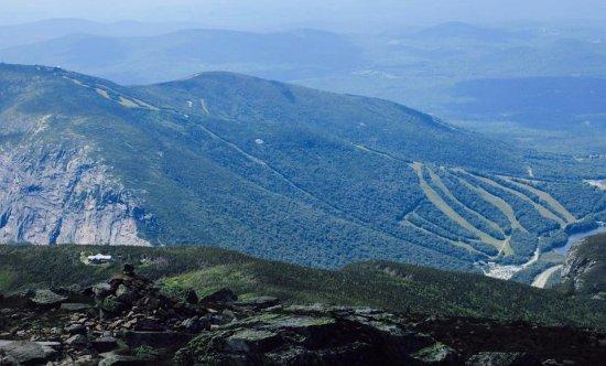 Mount Lafayette : Vue à partie du Mont Lafayette