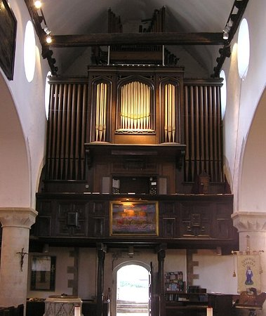Deal, UK: The Bevington organ in the old Pilots gallery