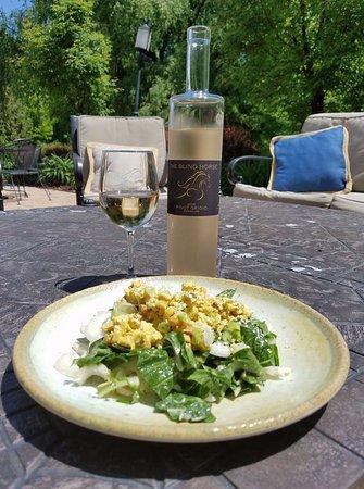 โคห์เลอร์, วิสคอนซิน: Curry Chicken Salad - Patio Menu