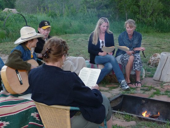 Loveland, CO: Songs by the campfire