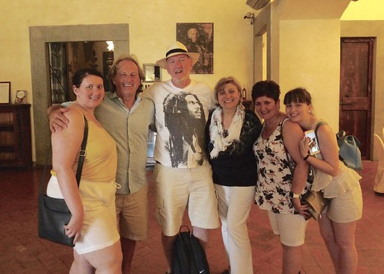 Best Tour Of Italy: With Anna and Claudio, our hosts at Villa Damiani