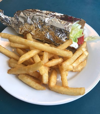 West Chester, Pensilvania: Gyro and Fries