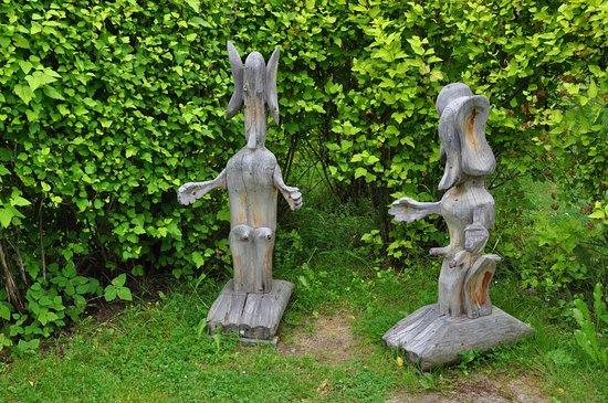 写真Wooden Sculpture Park枚