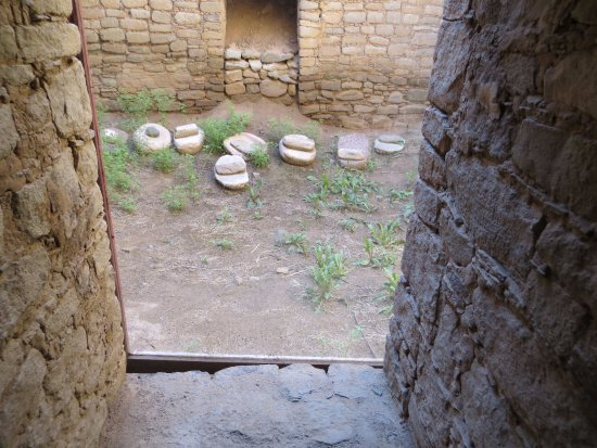 Aztec, NM: Stones used for grinding grain