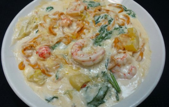 Bowling Green, OH: California Seafood Linguine