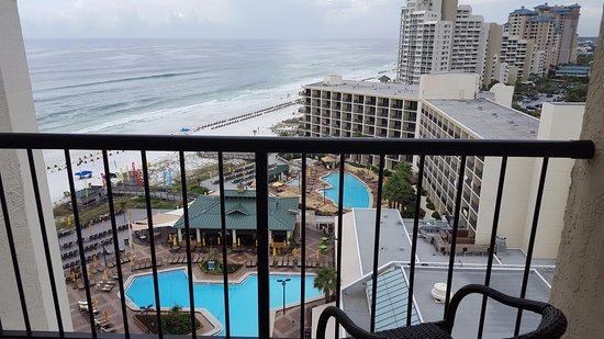 Hilton Sandestin Beach, Golf Resort & Spa: Jr. Suite balcony view