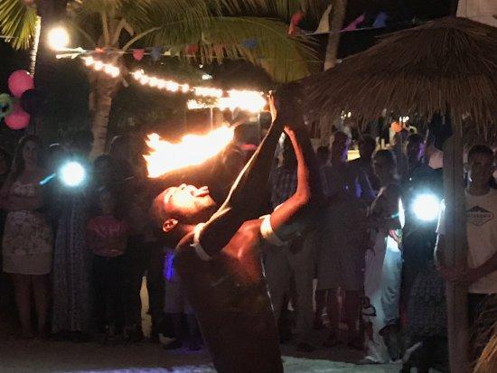 St. James's Club & Villas: Beach Party entertainment