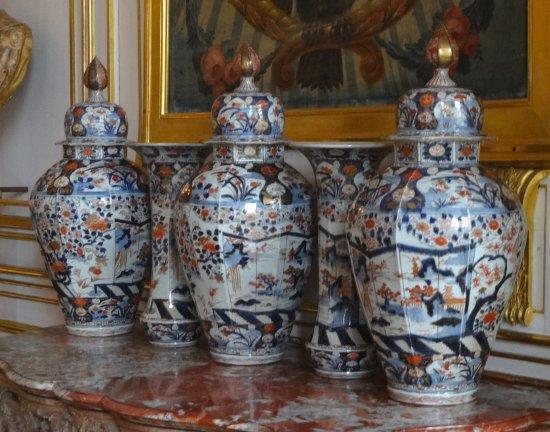 vase de style chinois ; salon des Évêques au Palais de Rohan - Bild ...