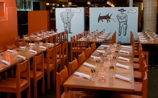 Border Grill Downtown LA: Main Dining Room - Private Party Setup