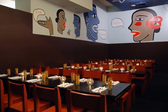 Border Grill Downtown LA: Private Party Setup - Semi Private