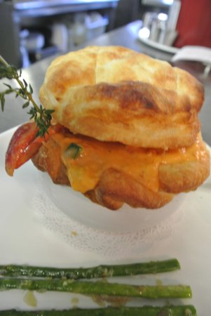 Stony Brook, Νέα Υόρκη: lobster pot pie