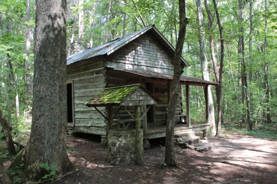 Madison County Nature Trail-Green Mountain: Green Pioneer Cabin