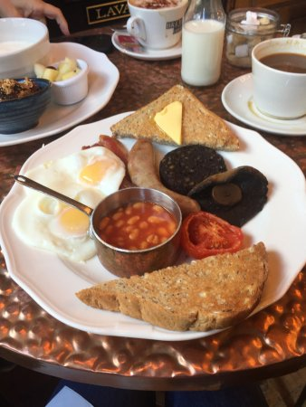 Full English Breakfast At The Red Lion Picture Of The Red Lion