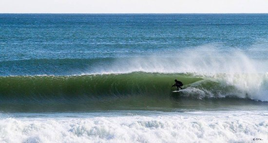 Wellfleet, MA: CSSS Founder Ryan G on a Sept Tube.