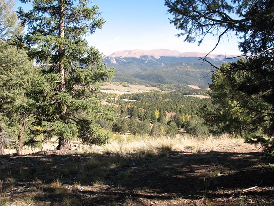 Divide, CO: View of Front Range