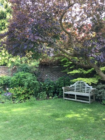 Steyning, UK: A secluded spot in the gardens