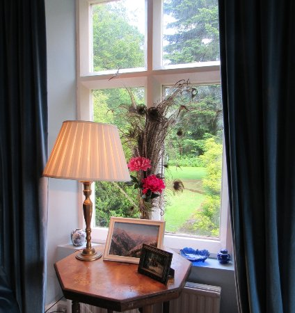 Llanwrda, UK: Sitting Room window