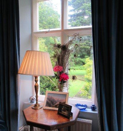 Ffrwdfal Country House: Sitting Room window