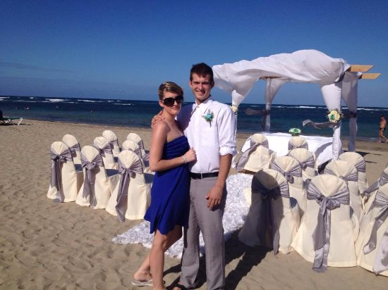 VH Gran Ventana Beach Resort: Wedding Ceremony Set up