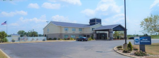 Brookfield, MO: WELCOMING HOTEL ENTRY