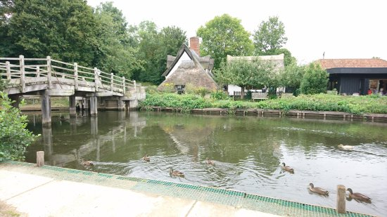 East Bergholt, UK : Flatford Mill