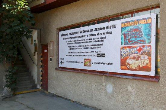 Roznov pod Radhostem, Tsjechië: Vchod do Escape Rožnov