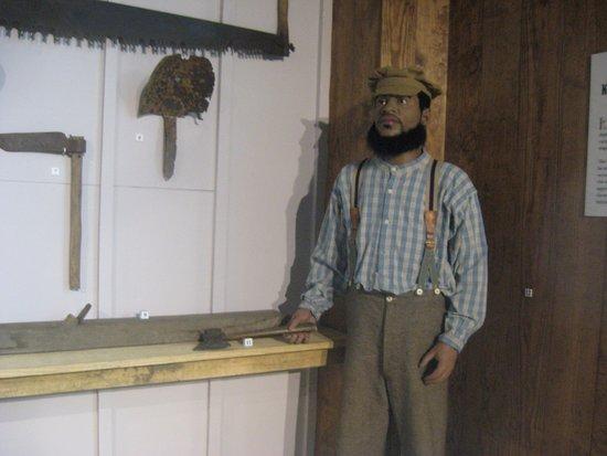 Kinston, NC: upstairs exhibit