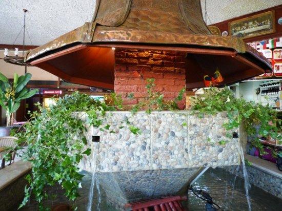 Famagusta District, Cyprus: Inside Petek Pastanesi restaurant.