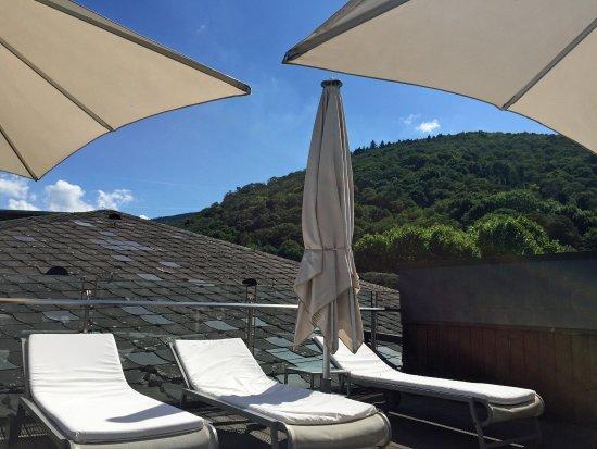 Der Europäische Hof Heidelberg: Traumhaftes Zimmer und Dachterrasse