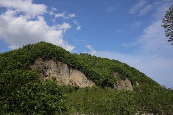 Nirasaki, Japão: 韮崎岩屑なだれ堆積物
