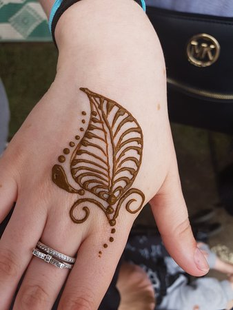 Eumundi, Australia: Temp tattoos