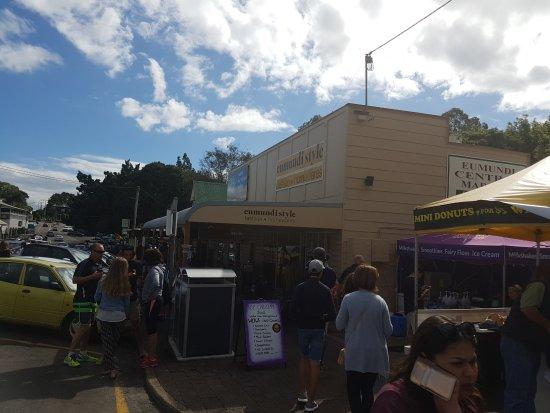 Eumundi, Australia: Entrance to markets