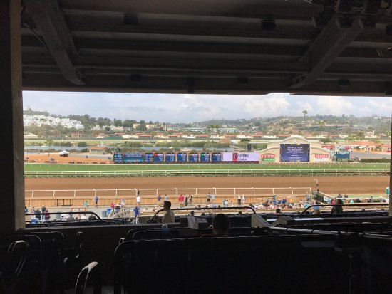 Del Mar, Kalifornia: You can by the cheat sheet for the day.