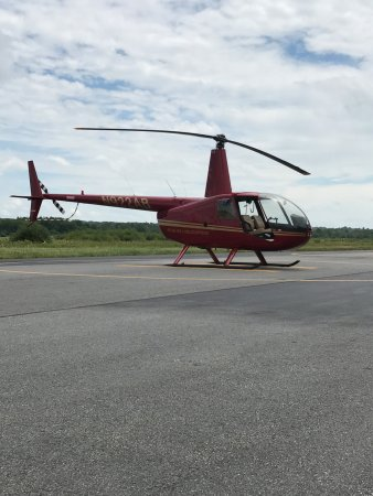 Norwood, MA: One of ur Robinson R44 tour helicopters