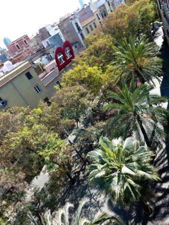 Allada Apartments: Blick vom Dachgarten