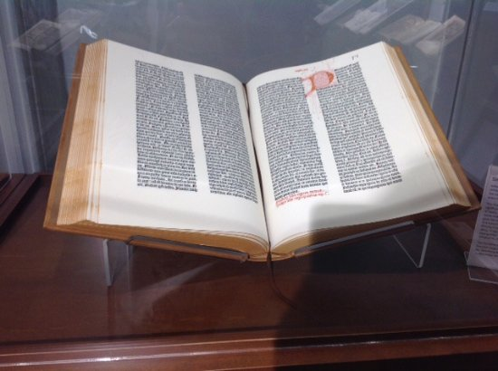 Abbotsford, Kanada: Gutenberg Bible