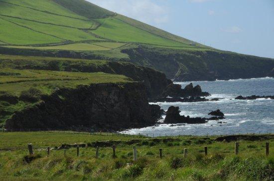 Dunquin, İrlanda: rugged Irish coast