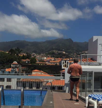 Hotel Madeira: Roof with a view