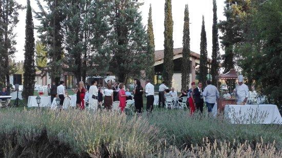 Tordandrea, Italia: Festeggiando a le dimore di San Crispino garden resort & spa Assisi