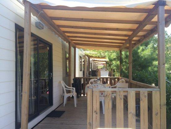 Norcenni Girasole Club : Gustocamp Superior Deluxe - Veranda