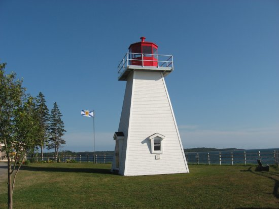 St. Peter's, Canada: Jerome Point Lighthouse at Battery Provincial Park