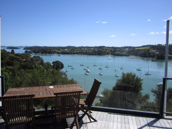 Opua, New Zealand: View from Bridge Deck Lounge