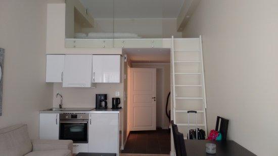 camera 4 posti con soppalco e cucina - Foto di Ustedalen Hotel ...