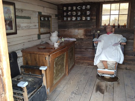 Shave And Haircut Picture Of Castle Dome Mines Museum Ghost Town